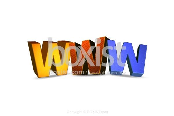 WWW Web in 3D Design