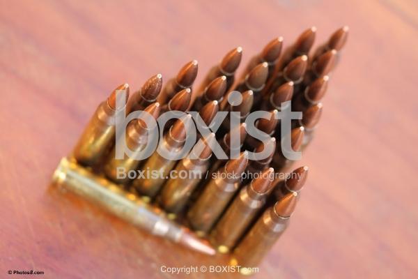 Bullets in Rows