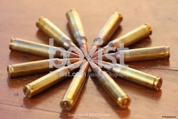 Bullets in a Star Arrangement