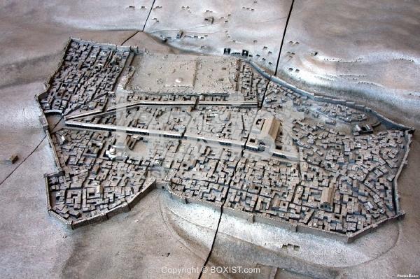 Map of Byzantine Jerusalem