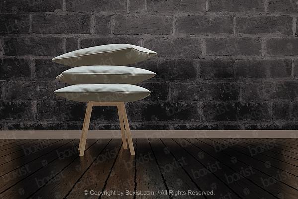 Motorbike Acrobatic Jump at Night
