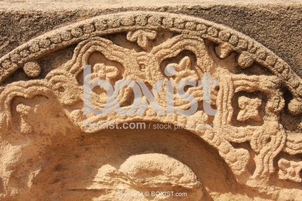 Engraved Umayyad Ruins