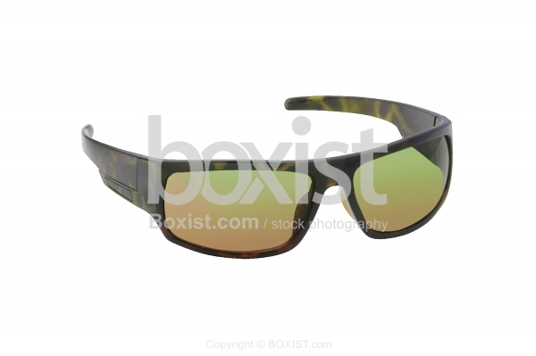 Wide Panel Frame Fashion Sunglasses