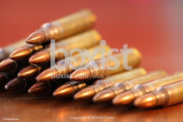 Assault Rifle Bullet Shells