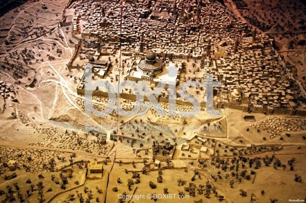 Model of Jerusalem in The 19th Century