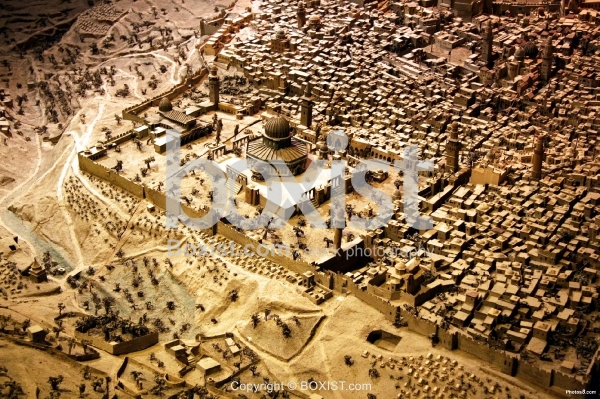 Old City of Jerusalem in The 19th Century
