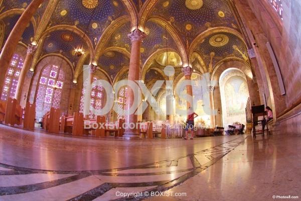 All Nations Jerusalem Church Interior