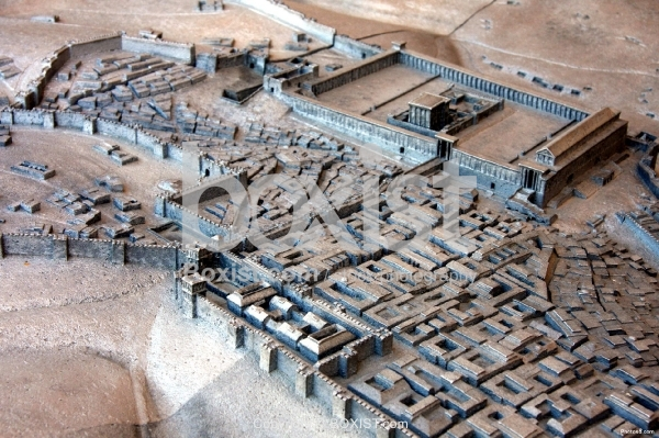 Model of the Second Temple in Jerusalem