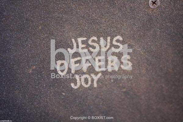 Jesus Offers Joy