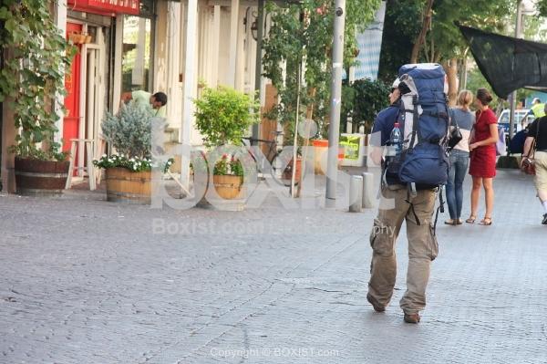 Backpacker Man