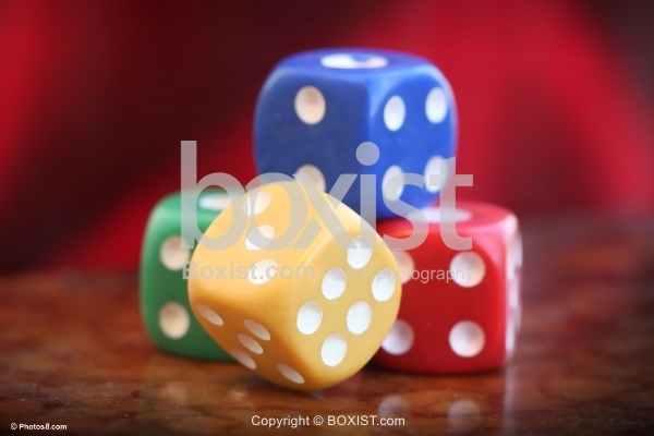 Big Colored Dices