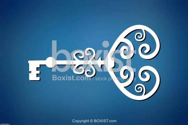Heart Key Design