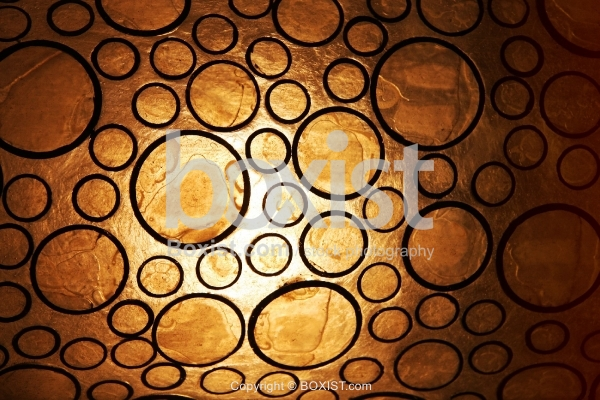 Glass with Circles Texture