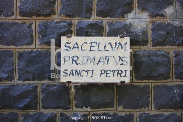 Sacellvm Primatvs on Basalt Wall