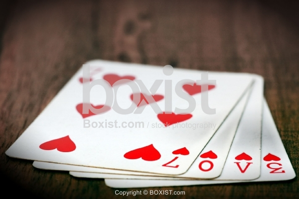 Love Numbers on Cards