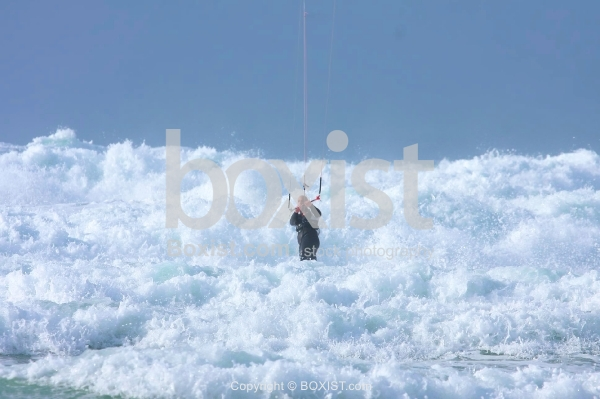 Stormy Sea Surfing
