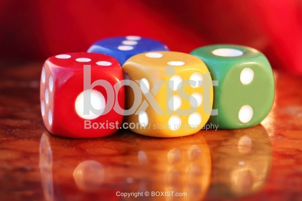 Large Colored Dices