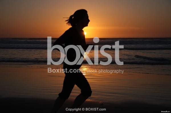 Girl Running Sport