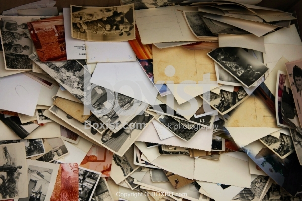 Pile of Vintage Pictures