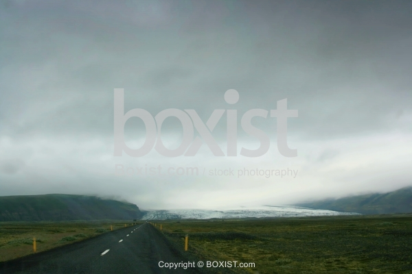 Road With Bad Weather