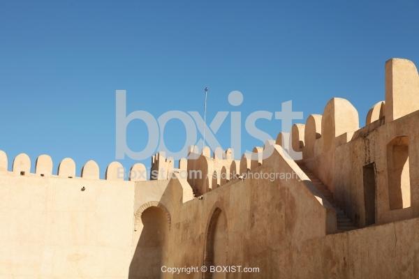 Ancient Walls of Sousse Ribat