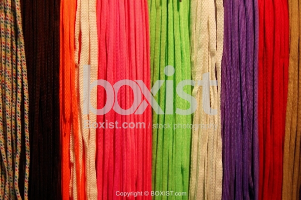 Shoe Laces With Shiny Colors