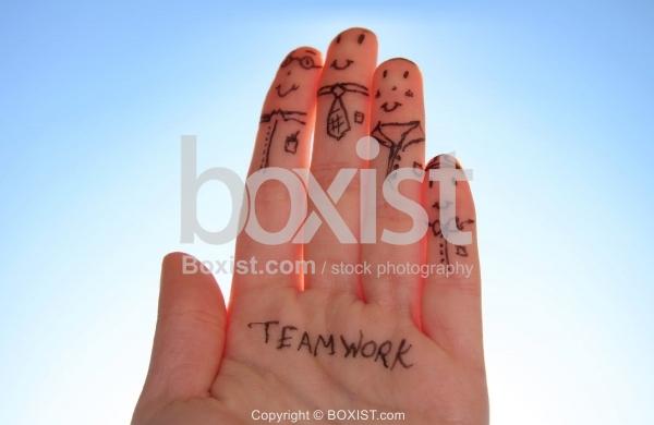 Fingers Teamwork