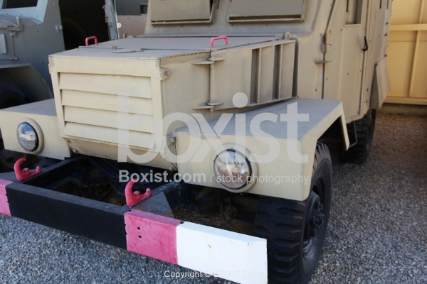 Old Armored Military Vehicle