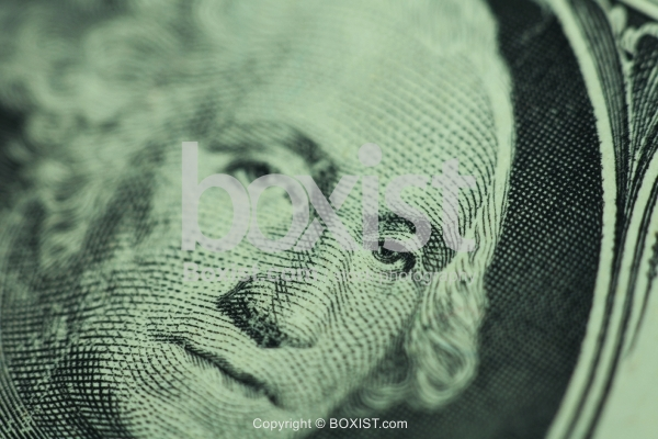 Dollar Details with George Washington Eye