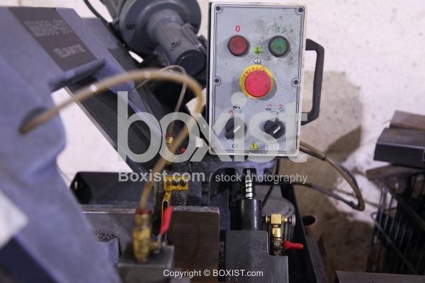 Hydraulic Machine Buttons
