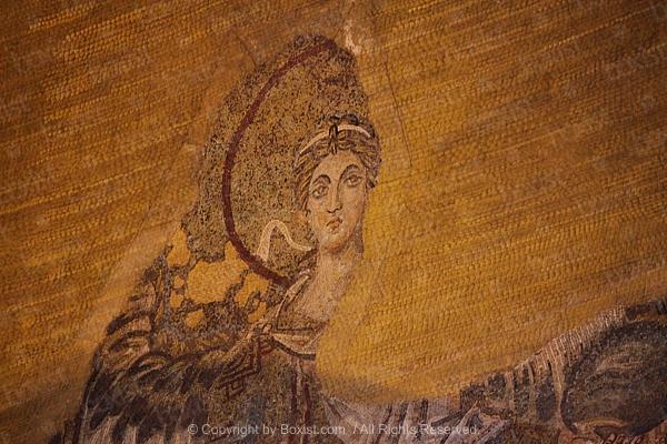 Magnifying Glass Over Fingerprint
