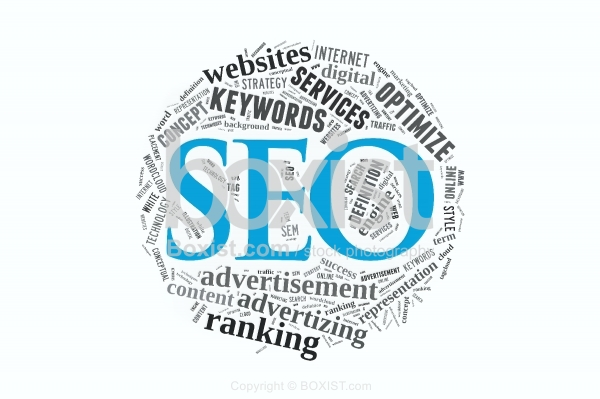 Search Engine Optimization Keywords Cloud