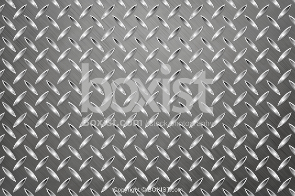 Shiny Metal Diamond Plate Background