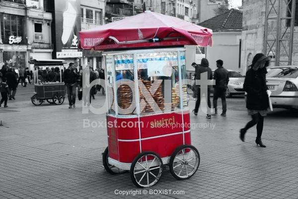 Simit Turkish Sesame Bagel Cart