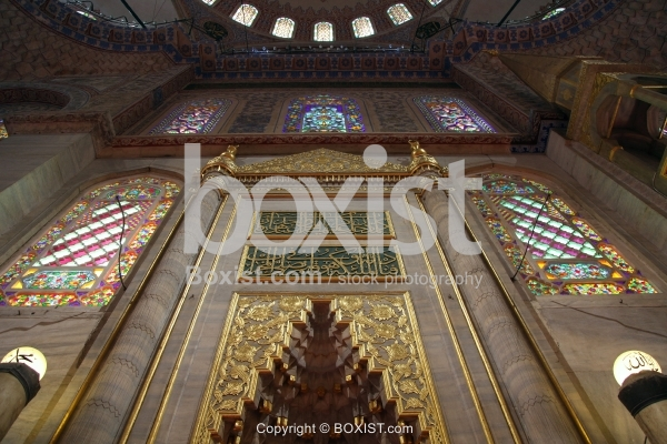 The Mihrab of Sultan Ahmed Mosque