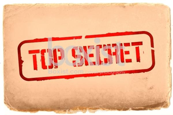 Old Top Secret Paper