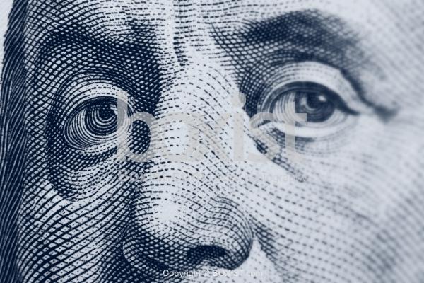 Eye of Benjamin Franklin