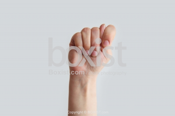 Hand Showing Fig Sign