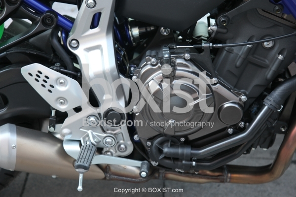 New Motorcycle Engine