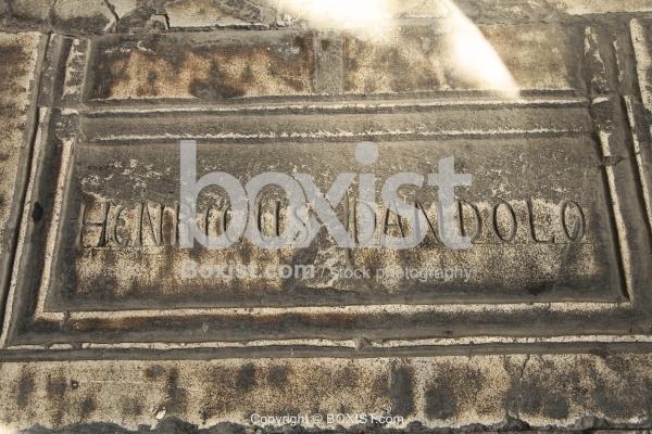 Doge of Venice Tomb Enrico Dandolo in Hagia Sophia