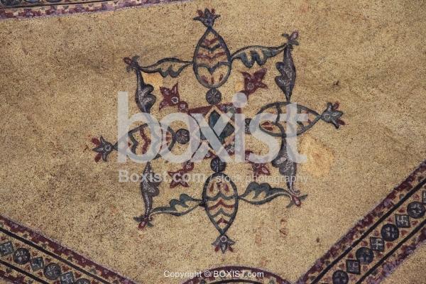 Fish Mosaic Cross In Hagia Sophia