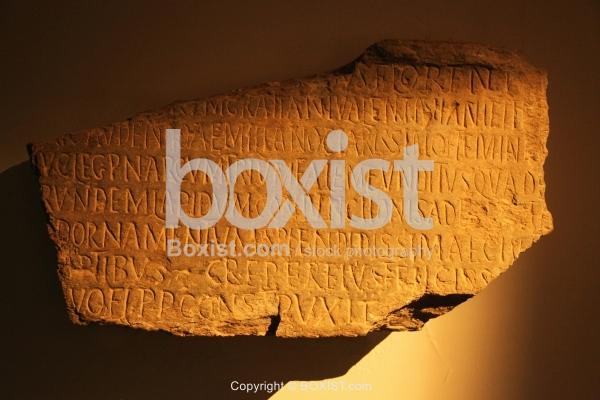 Roman Marble Funerary Tablet
