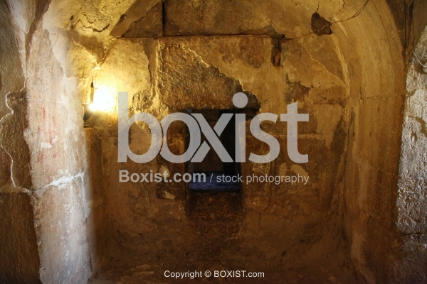 Small Door in the Cave of the Seven Sleepers