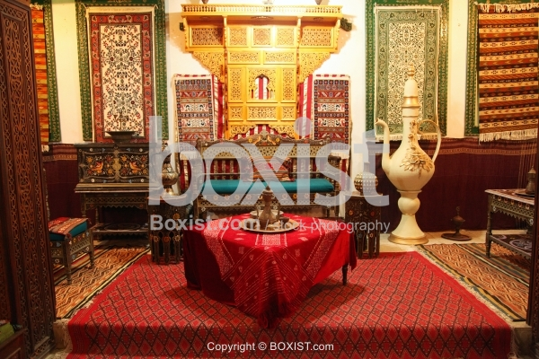 Traditional Tunisian House Owner Sitting Room