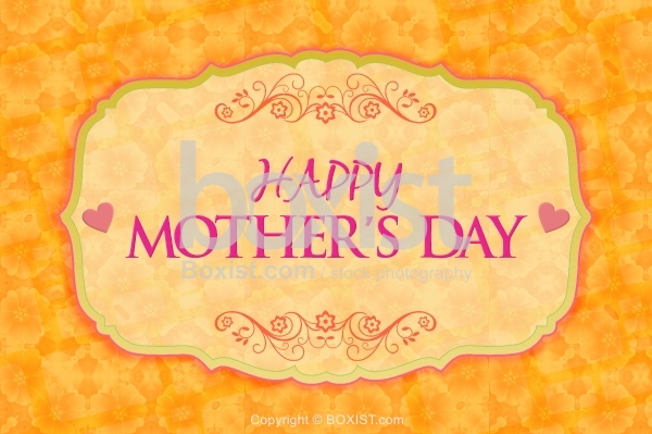 Floral Happy Mothers Day Card