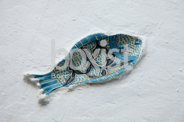 Ceramic Fish on Wall