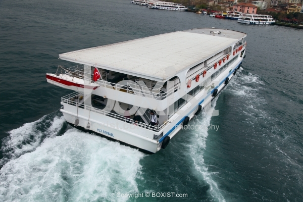 Ferry Boat In Istanbul