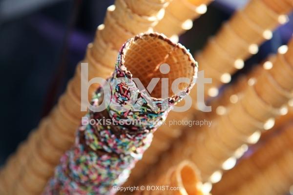Ice Cream Sweet Cones