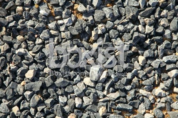 Black Basalt Crushed Rocks