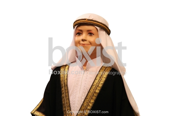 Boy Mannequin with Traditional Arabic Clothes